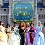 Merida Officially Becomes Eleventh Disney Princess in Magic Kingdom Ceremony