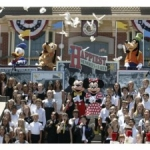 Disneyland Celebrates it's 55th Anniversary With Thousands of Guests & Cast Members
