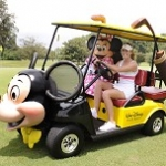 LPGA Golfer Paula Creamer Celebrates in Walt Disney World