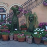 New Topiaries in Store for Epcot's 18th Annual Flower and Garden Festival