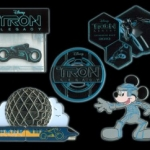 New Tron Pins to Mark the Opening of 'Tron: Legacy'