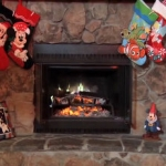 Disney Holiday Yule Log Video