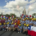 Chilean Miners Honored During Special Parade at Magic Kingdom