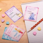 Craft Time: Print Disney Valentines and Enjoy Easy Crafts From Disney Family