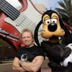 Star Sighting:  Aerosmith's Joey Kramer Rocks Out at Hollywood Studios