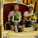 'Modern Family' Jesse Tyler Ferguson Drops in on Walt Disney World
