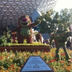 Lotso the Bear and Other Final Topiaries Installed at Epcot's Flower & Garden Festival
