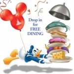 Disney Visa Cardholders Dine for Free at Walt Disney World
