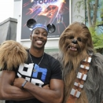 Star Sighting: Dwight Howard Visits Disney's Hollywood Studios