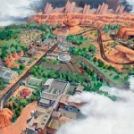 Take a Virtual Tour Through 'Cars Land'