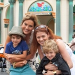 Star Sightings:  Mariska Hargitay and Debra Messing Visit Disneyland