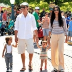 Star Sighting:  Matthew McConaughey and Family Visit Disneyland