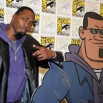 Orlando Magic's Dwight Howard at Comic-Con to Promote 'Kick Buttowski' Cartoon