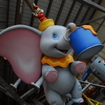 Dumbo Adorns Stern of Disney Fantasy In Construction Milestone