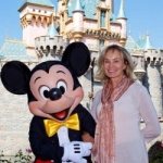 Star Sighting: Jessica Lange Visits Disneyland