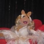 Miss Piggy Makes Appearance at Fashion's Night Out in NYC
