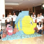 Disney VoluntEARS Create 'The Little Mermaid' Sculpture for CANstruction