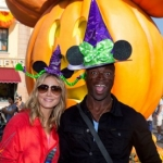 Star Sighting: Heidi Klum and Seal Enjoy Halloween Time at Disneyland Resort