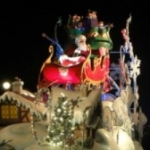 Santa Claus Arrives at Walt Disney World