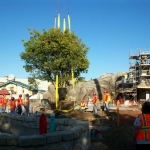 First Tree Planted in Magic Kingdom's New Fantasyland