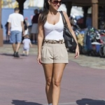 Star Sighting: Tulisa Contostavlos Enjoys Some Fun in the Sun at Disney World