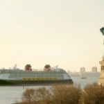 Disney Fantasy Christened by Godmother Mariah Carey in New York City