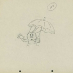 Walt Disney Drawing Showcased for the First Time in 40 Years