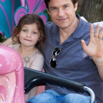 Star Sighting: Jason Bateman Takes His Daughter to Disneyland