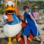 Star Sighting: 'Modern Family' Star Nolan Gould Visits Walt Disney World