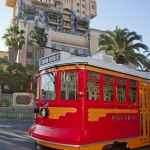 Red Car Trolley Begins Testing at Disney California Adventure
