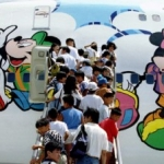 Disney India and Jet Airways Unveil Disney-Themed Aircraft