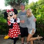 Star Sighting: Carrie Underwood & Mike Fisher Pal Around with Minnie at Walt Disney World Resort