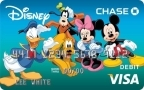 Chase Debuts Disney Visa Debit Card