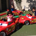 Disneyland Donates Lightning McQueen Power Wheels to Local Nonprofits