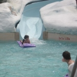 Star Sighting: Tom Cruise and Suri Visit Disney's Blizzard Beach Water Park