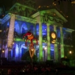 Disneyland's Haunted Mansion Transforms for Halloween