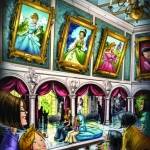 First Look: Concept Art for Magic Kingdom's Princess Fairytale Hall
