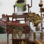 New 'Alice In Wonderland' Themed Splash Pad Open at Disney's Grand Floridian Resort