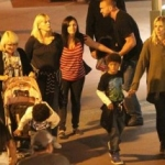Star Sighting: Heidi Klum Takes Kids to Disneyland