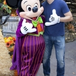 Star Sighting:  Glee's Matthew Morrison Celebrates Birthday with Mickey at Disneyland