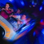 State Officials Investigate Space Mountain Accident