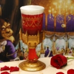 New Souvenir Glass Coming to Be Our Guest Restaurant at Magic Kingdom
