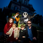 Star Sighting: Tim Burton and Family Visit Disneyland Paris