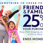 Save Big with the Disney Store Online's Friends and Family Event