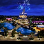 Disney Reveals First Shanghai Disney Resort Image