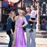 Star Sighting: Freddie Prinze, Jr., and Sarah Michelle Gellar Get a Sneak Peek at Disneyland's Fantasy Faire