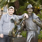 Star Sighting: James Franco Studies Walt Disney's Legacy at Disneyland