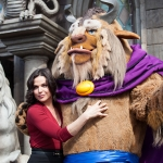 Lana Parrilla of 'Once Upon a Time' Visits New Fantasyland