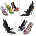 New Shoe Ornaments Showcase Style and Disney Character