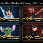 Special Disney Gift Cards Available During 'Star Wars' Weekends